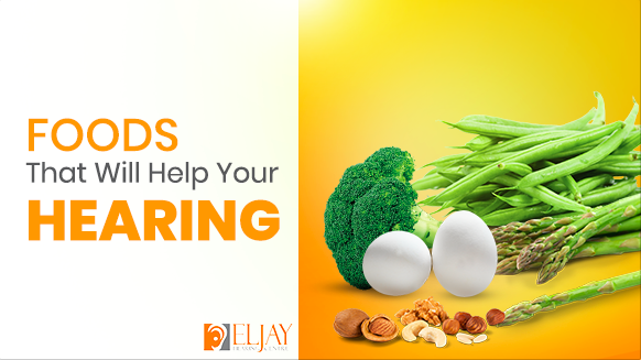 Foods that help you in hearing